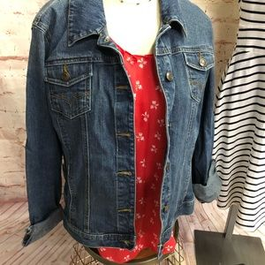 Style and Co denim jacket xl